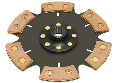 "Racing 6 Pad ""QUICK LOCK™"" Solid Hub Clutch Disc"